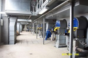Versorgung einer Papierfabrik mit Produktions- und Heizwärme