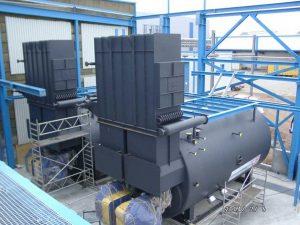 Erweiterung einer bestehenden Dampfkesselanlage in einer Papierfabrik
