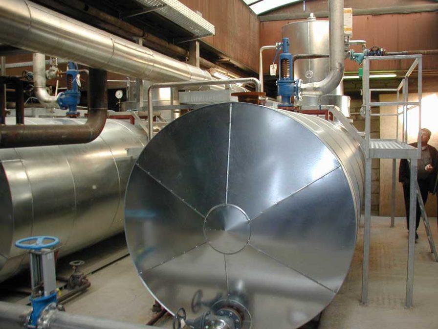 Erweiterung der Dampfversorgung in einem lebensmittelverarbeitenden Betrieb