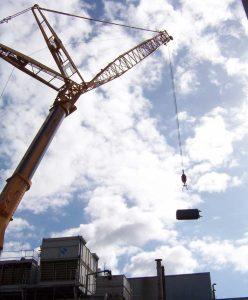 Dampferzeugeranlage zur Versorgung einer Gefriertrocknungsanlage mit Energie