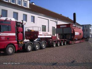 Hilfskessel für ein Kohlekraftwerk in Norddeutschland