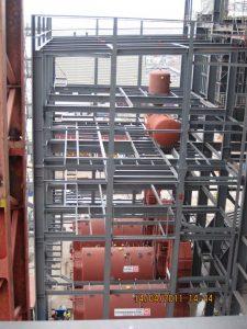Hilfskesselanlage für ein Kohlekraftwerk in den Niederlanden