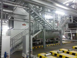 Hilfsdampferzeugeranlage zur Versorgung eines Steinkohlekraftwerkes in Nordrhein-Westfalen