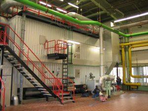 Heißwassererzeuger zur Versorgung einer Automobilfabrik in Niedersachsen