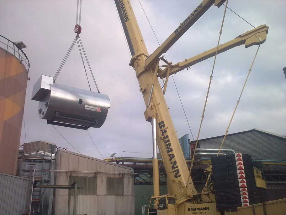 Erweiterung der Dampfversorgung eines Edelstahlwerks