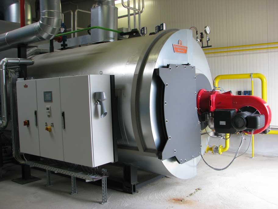 Hochdruckdampfkessel zur Versorgung einer Molkerei