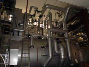 Erneuerung der Dampf- und Heißwasserversorgung einer Brauerei