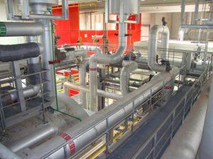 Erneuerung der Strom- und Dampfversorgung eines Lebensmittelbetriebs in Norddeutschland
