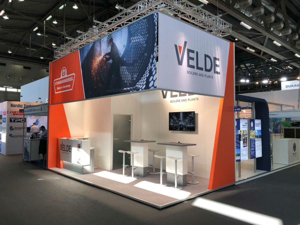 Erfolgreicher Messeauftritt der VELDE Group bei der Electrify Europe 2018